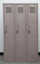"""Used Metal School Lockers 36""""W X 15""""D X 60""""H"""