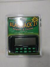 Vintage Radica Black Jack 21 (2 Games In One) NEW