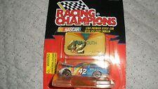 1997 Edition Racing Champions/Nascar 1/64 Premier Stock Car/Emblem-#42-Nemechek