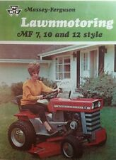 Massey Ferguson MF 5 6 7 8 10 12 14 Lawn Garden Tractor Color Sales (4 BOOKS 36p
