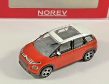2017 CITROEN C3 AIRCROSS in Orange / White 1/64 scale model by NOREV