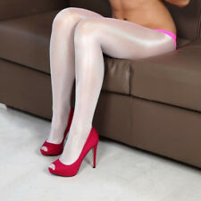 Women 70D Pantyhose Stretchy Shiny Glossy Stockings Uniform Cosplay Dance Tights