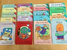 Lot of 20: BOOKS  Let's Read With THE LETTER PEOPLE  2000  WITH FREE SHIPPING