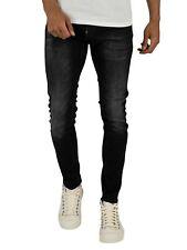 G-Star Men's Revend Skinny Jeans Negro
