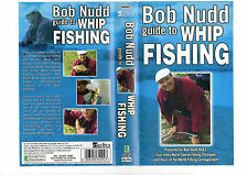 BOB NUDD GUIDE TO WHIP FISHING --VHS COVER ONLY RARE