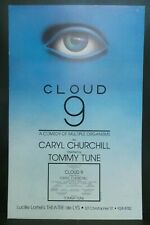 "Cloud 9 Comedy Theater Broadway Window Card Poster 14"" x 22"""