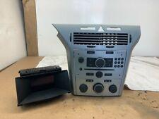 VAUXHALL ASTRA VXR CDC 40  RADIO CD PLAYER DISPLAY HEATER CONTROLS & FACIA