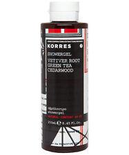 KORRES Men's Natural Vetiver Root | Green Tea | Cedarwood SHOWER GEL 250ml