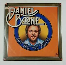 DANIEL BOONE Run Tell The People LP PYE 12105 US 1975 SEALED Pop Vocal 6A