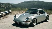 """Porsche 911 Classic Auto Car Art Silk Wall Poster 24x36"""""""