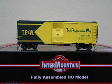 Intermountain Toledo Peoria & Western Modified 1937 AAR 40' Boxcar 45839 TP&W HO