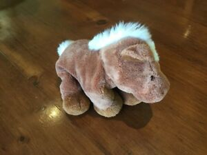 """Gund Brown """"Nilly"""" Horse, 30cm From Head To Tail"""