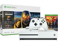 Xbox One S 1TB Console - Anthem Bundle
