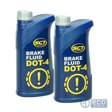 Bremsflüssigkeit SCT 2 Liter DOT-4 SAE J 1703 Bremse Brems Flüssigkeit DOT4 DO T