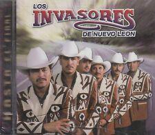 Los Invasores de Nuevo Leon hasta el Final CD Nuevo Nuevo Sellado Sellado