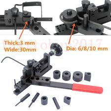 DIY Manual Bending Machine Metal Bar Tube Pipe Dia 6/8/10mm Steel Wire Steel New