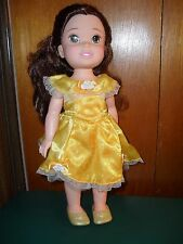Beautiful Disney Toddler Belle Doll from Beauty & The Beast, 15 inch doll