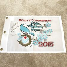 Scotty Cameron Cherry Blossom Pin Flag 2015 M&G Putter Festival Tiffany Circle J
