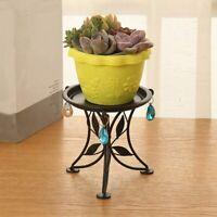 Mini Countertop Plant Stand Metal Potted Plant, Decorative Flower Pot Rack  M5X3