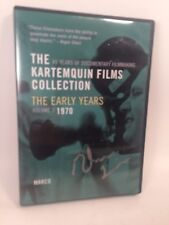 The Kartemquin Films Collection DVD Early Years Volume 3 Marco 1970 Autographed