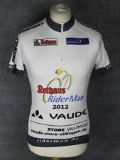 * SIGNED * VAUDE 2012 CYCLING JERSEY MENS SIZE MEDIUM