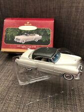 Vintage Hallmark 1949 Cadillac Coupe deVille Christmas Ornament in Original Box