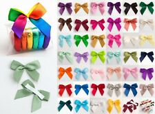 5cm Satin Bows - Self Adhesive Pre Tied 16mm Ribbon 1 Sample, 6, 12 or 45 Pack