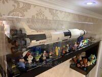 Acrylic display case for Lego NASA Apollo Saturn V 21309 ( AUS Top Rated Seller)