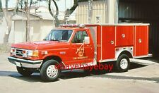 Fire Apparatus Slide, Squad 2591, Del Mar / CA, 1991 Ford / E-One