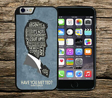 How I Met Your Mother Barney Stinson iPhone 4/4s 5/5s SE 5c 6/6s 6+/6s+ 7 Case