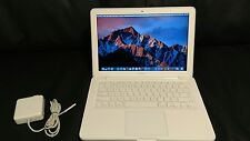 "Apple MacBook White 13"" A1342 250GB HDD, 4GB Ram, Mac OS X Sierra & Office 2016!"