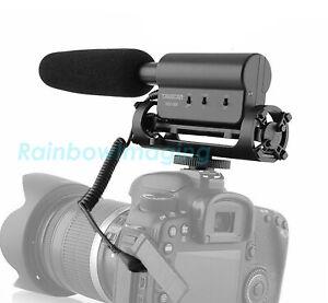Takstar Shotgun Video Microphone Interview Recording Mic for Canon Nikon DSLR
