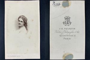 Tourtin, Paris, Alice Marie Angèle Pasquier, dite Madame Pasca Vintage cdv album