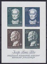 Jugoslawien Block 8 **, 70. Geburtstag Tito 1962, postfirsch, MNH