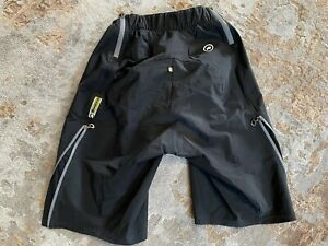 ASSOS H.Rally Cargo Shorts Trail All Mountain Cycling Mens Black - Large