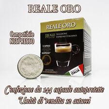 OFFERTA! 144 CAPSULE autoprotette compatibili Nespresso-unità vendita 12 astucci