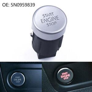 Car Start Stop Button Switch 5N0959839 for VW Tiguan 2008-2016 Sharan 2011-2016