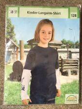 Markenlose Langarm Jungen-T-Shirts, - Polos & -Hemden mit Größe 140