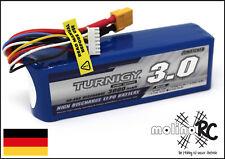 1x Turnigy 3000mAh 6S 30C-40C  Lipo Pack 3.0 NEU Lipo Akku 22,2V T-Rex 500 XT60
