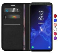 Samsung J6 A6 J4 J6 S7 S8 S9 S10 Lite Plus Flip Leather Wallet Stand Case Cover