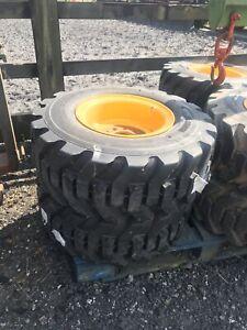 Foam Filled JCB Teletruk Tyres