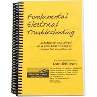 Fundamental Electrical Troubleshooting Book ESI182 Brand New!