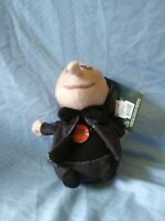 "The Addams Family Uncle Fester 6"" Singing Squeezer Plush Toy Theme Song  NEW"