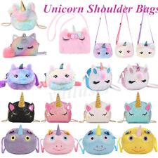 Cute Women Girls Shoulder Bag Cattoon Unicorn Mini Bags Travel Crossbody Bag Go!