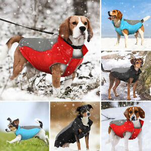 Dog Warm Winter Coat For Small Dogs Wind Resist Padded Warm Puppy Jacket Jumper