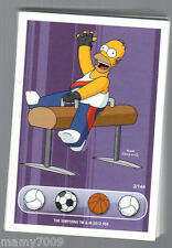 LOTTO 34 CARDS=THE SIMPSONS SPORT=NO DOPPIONI