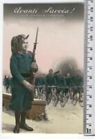 Cartolina Militare - Avanti Savoia! - 2191
