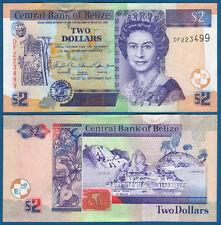 Belice 2 dollars 2007 UNC p. 66 C