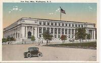 New Post Office. Washington DC. Vintage Postcard.