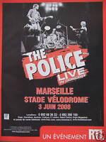 PUBLICITÉ UN ÉVÉNEMENT RTL THE POLICE LIVE IN CONCERT MARSEILLE STADE VÉLODROME